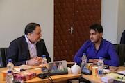 دیدار مدیرعامل فارابی با یک تهیه کننده بنگلادشی