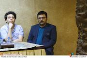 شهرام عبدلی و خشایار موحدیان در نشست خبری عوامل سریال سر دلبران
