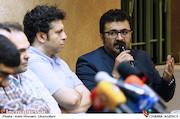 شهرام عبدلی در نشست خبری عوامل سریال سر دلبران