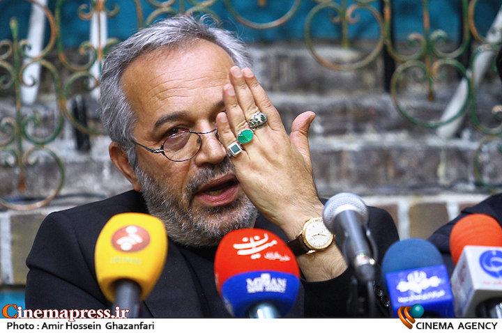 محمدحسین لطیفی در نشست خبری عوامل سریال سر دلبران