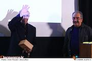 رضا مجاوری در دومین شب نقره ای فیلمبرداران سینمای ایران
