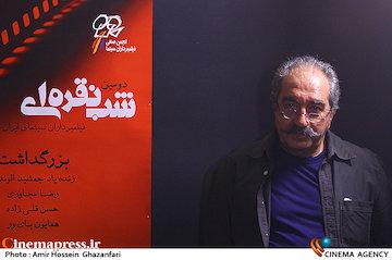 تورج منصوری در دومین شب نقره ای فیلمبرداران سینمای ایران