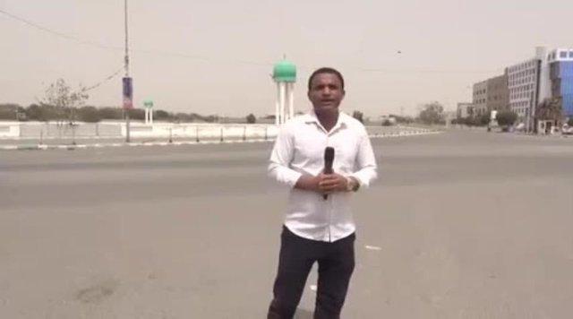 عصبانیت مجری شبکه عربی
