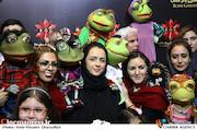 ترانه علیدوستی در مراسم اکران خصوصی فیلم سینمایی خاله قورباغه