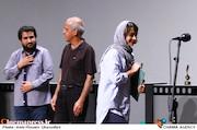 معصومه بیگی در مراسم اختتامیه پانزدهمین جشنواره فیلم کوتاه دانشجویی نهال