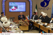 علی دارابی در هم اندیشی «انقلاب اسلامی، دستاوردها و رهیافت رسانه ای»
