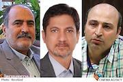 سعید منظری، دکتر امیررضا معتمدی و حبیب ایل بیگی