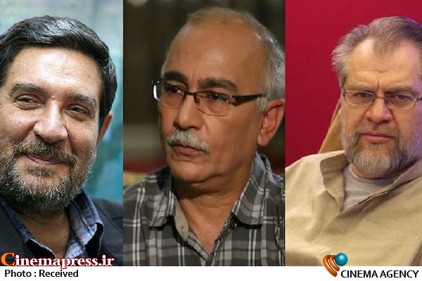 نادر طالبزاده، شهریار بحرانی و پرویز شیخ طادی
