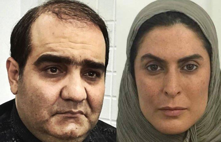 بهناز جعفری و میر طاهر مظلومی / بازیگران فیلم سینمایی «ماهی و برکه»