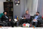 جلسه مشترک مدیر شبکه قرآن و معارف سیما با مدیرکل و مدیران مجموعه اداره کل روابط عمومی رسانه ملی