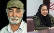 شهره لرستانی و محمود پاک نیت