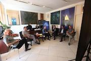 بازدید مدیرکل هنرهای تجسمی از روند جشنواره تجسمی جوانان