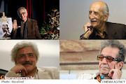 داریوش اسدزاده، ابوالحسن تهامی نژاد و داریوش مهرجویی /سید مهدی شجاعی