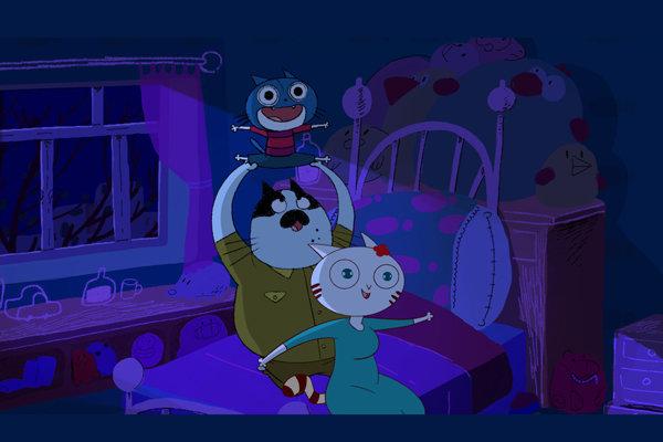 انیمیشن شب ترسناک لومو