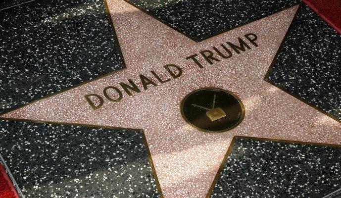 ستاره ترامپ در خیابان مشاهیر هالیوود