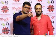 احمد مهرانفر و علی عطشانی در مراسم اکران خصوصی فیلم سینمایی کاتیوشا