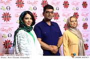 صبا کمالی، علی عظشانی و لیلا اوتادی در مراسم اکران خصوصی فیلم سینمایی کاتیوشا
