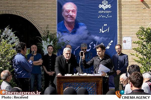 مراسم تشییع پیکر محمد عبادی