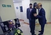 علی عسکری در منزل استاد عزت الله انتظامی