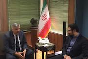 سفیر ازبکستان - معاون هنری وزیر ارشاد
