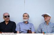 اکبر رحمتی در مراسم تشییع پیکر مرحوم سید ضیاء الدین دری
