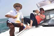 جزیره کیش - فیلمبرداری «آپاچیها»