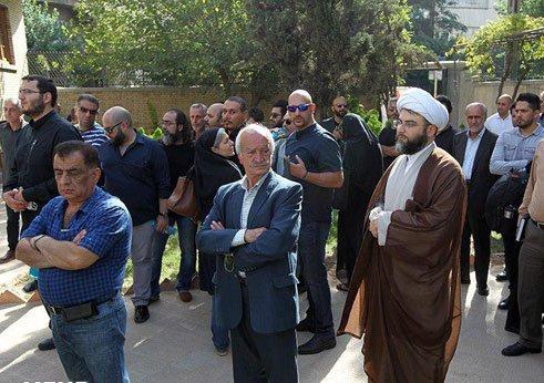 حضور رئیس سازمان تبلیغات اسلامی در مراسم تشییع سید ضیاءالدین دری