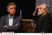 منوچهر شاهسواری و همایون اسعدیان در آئین نکوداشت بیستمین جشن سینمای ایران