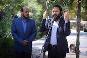 آیین گشایش سومین جشنواره نقالی و پرده خوانی غدیر (نقالان علوی)