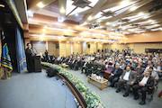 مراسم تودیع و معارفه رییس مرکز بسیج رسانه ملی
