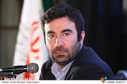 سیداحد میکائیل زاده در نشست خبری سی و یکمین جشنواره بین المللی فیلم های کودکان و نوجوانان