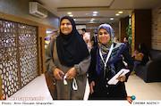 پروانه مرزبان و انسیه شاه حسینی در سی و یکمین جشنواره فیلم های کودکان و نوجوانان
