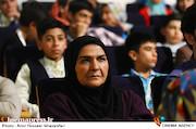 انسیه شاه حسینی در مراسم اختتامیه دومین المپیاد فیلمسازی نوجوانان
