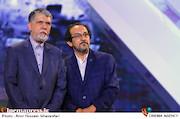 علیرضا رضاداد و عباس صالحی در اختتامیه سی ویکمین جشنواره بین المللی فیلم های کودکان و نوجوانان