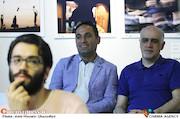 علی قائم مقامی و حسن مصطفوی در چهارمین جشن عکاسان سینمای ایران