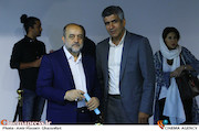 محمد نیکبخت و حافظ احمدی در چهارمین جشن عکاسان سینمای ایران