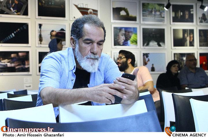 سعید سهیلی در چهارمین جشن عکاسان سینمای ایران