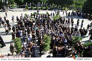 مراسم تشییع پیکر مرحوم حسین عرفانی