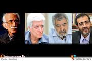 غلامحسین امیرخانی، محمود عزیزی، علی منتظری و مجید کیانی
