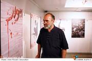 رضا برجی در افتتاح نمایشگاه پوستر «اهواز سرفراز»