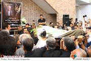 مراسم تشییع پیکر مرحوم «یدالله صمدی»