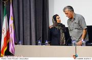 همایون اسعدیان و فاطمه معتمدآریا در نشست خبری هیات مدیره جامعه اصناف سینمای ایران
