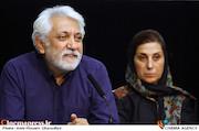 فاطمه معتمدآریا و کامران ملکی در نشست خبری هیات مدیره جامعه اصناف سینمای ایران