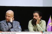 روانبخش صادقی و مرتضی رزاق کریمی در نشست خبری هیات مدیره جامعه اصناف سینمای ایران