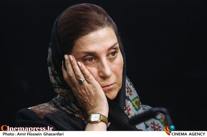 فاطمه معتمدآریا در نشست خبری هیات مدیره جامعه اصناف سینمای ایران