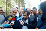 سردار سلیمانی در حاشیه مراسم آغاز فیلمبرداری فیلم سینمایی «بیست و سه نفر»