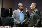 خسرو دهقان و احمد ضابطی جهرمی در نشست مطبوعاتی «دومین جایزه پژوهشی سینمایی سال»