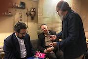 دیدار معاون امور هنری با محمدرضا درویشی