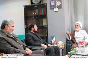 نشست مشترک اعضای حقیقی شورای معارف سیما با معاون تبلیغ حوزههای علمیه