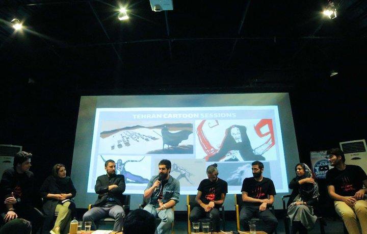 دومین دوره «جلسات کارتون تهران»